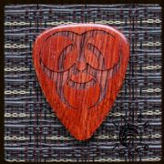 Laser Tones Ironwood Guitar Picks | Timber Tones